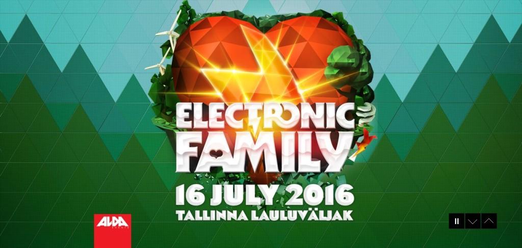 Сайт Electronic Family